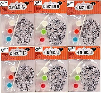Amazon Com Creative Hobbies Suncatcher Craft Kits Kids 6 Complete