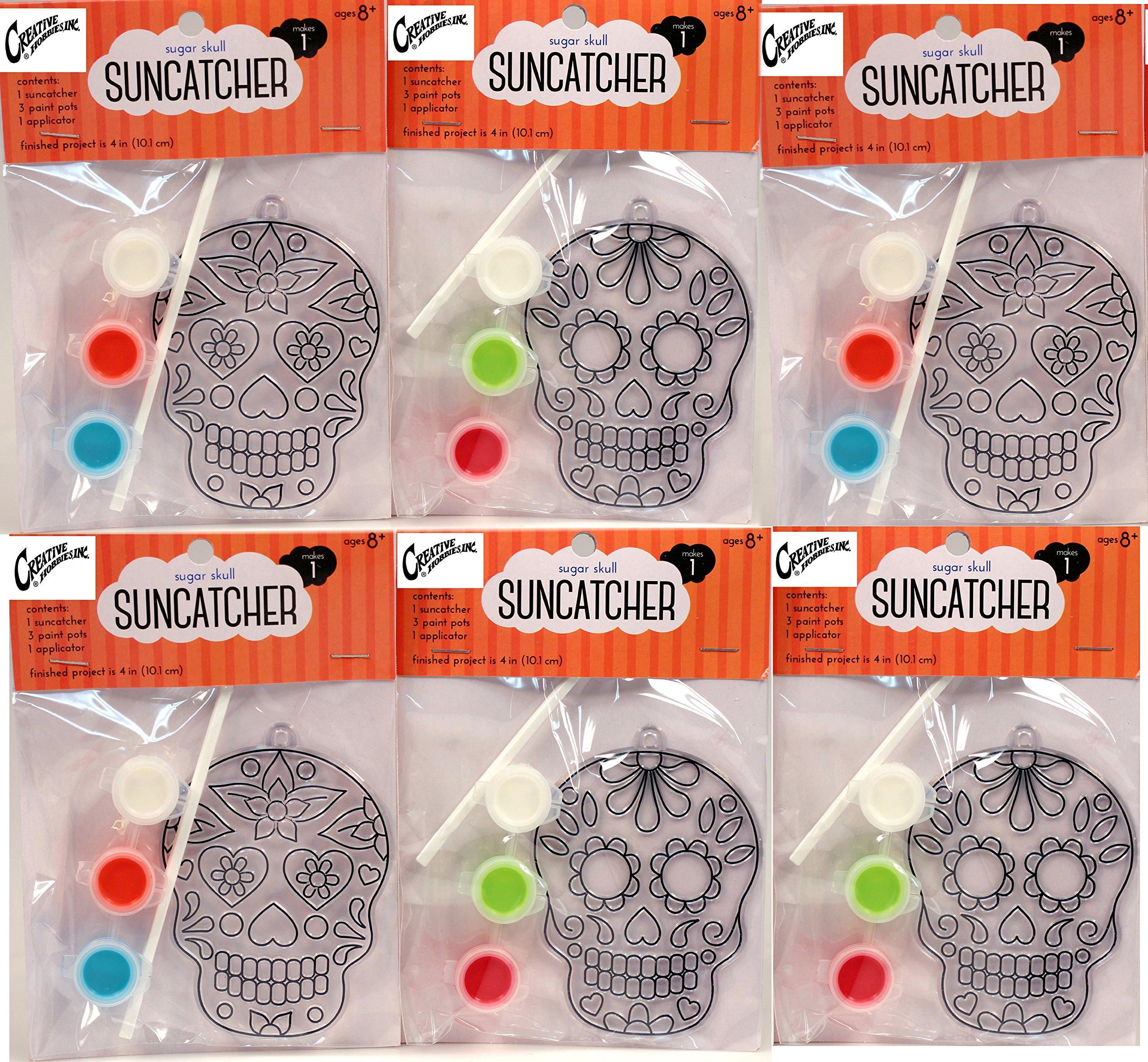 Creative Hobbies Suncatcher Craft Kits Kids 6 Complete