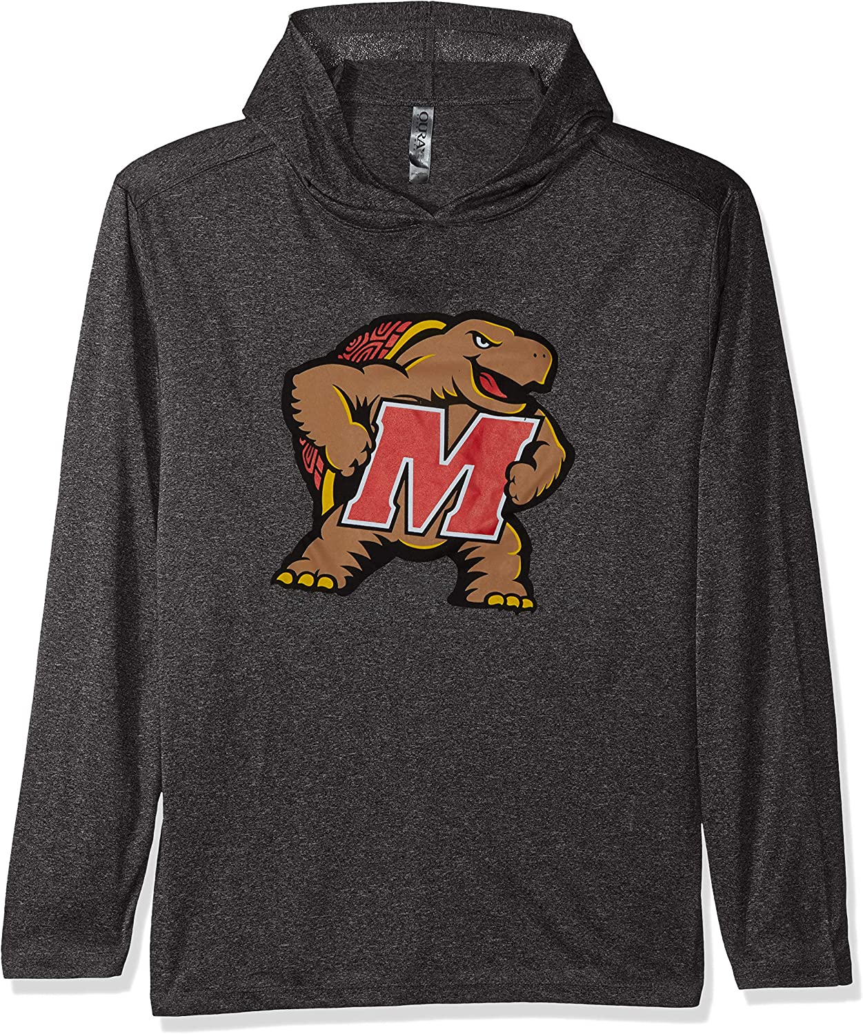 Ouray Sportswear NCAA Maryland Terrapins Mens Confluence Hoodie Athletic Heather Medium