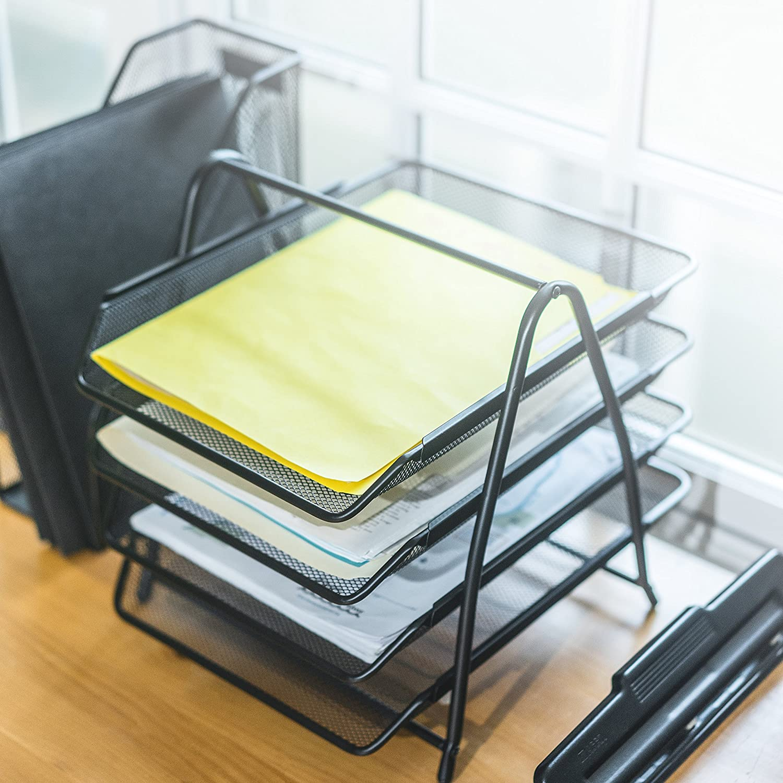 Mesh Office Desk Accessories Organizer Set 6 Pieces 25 Home Decor