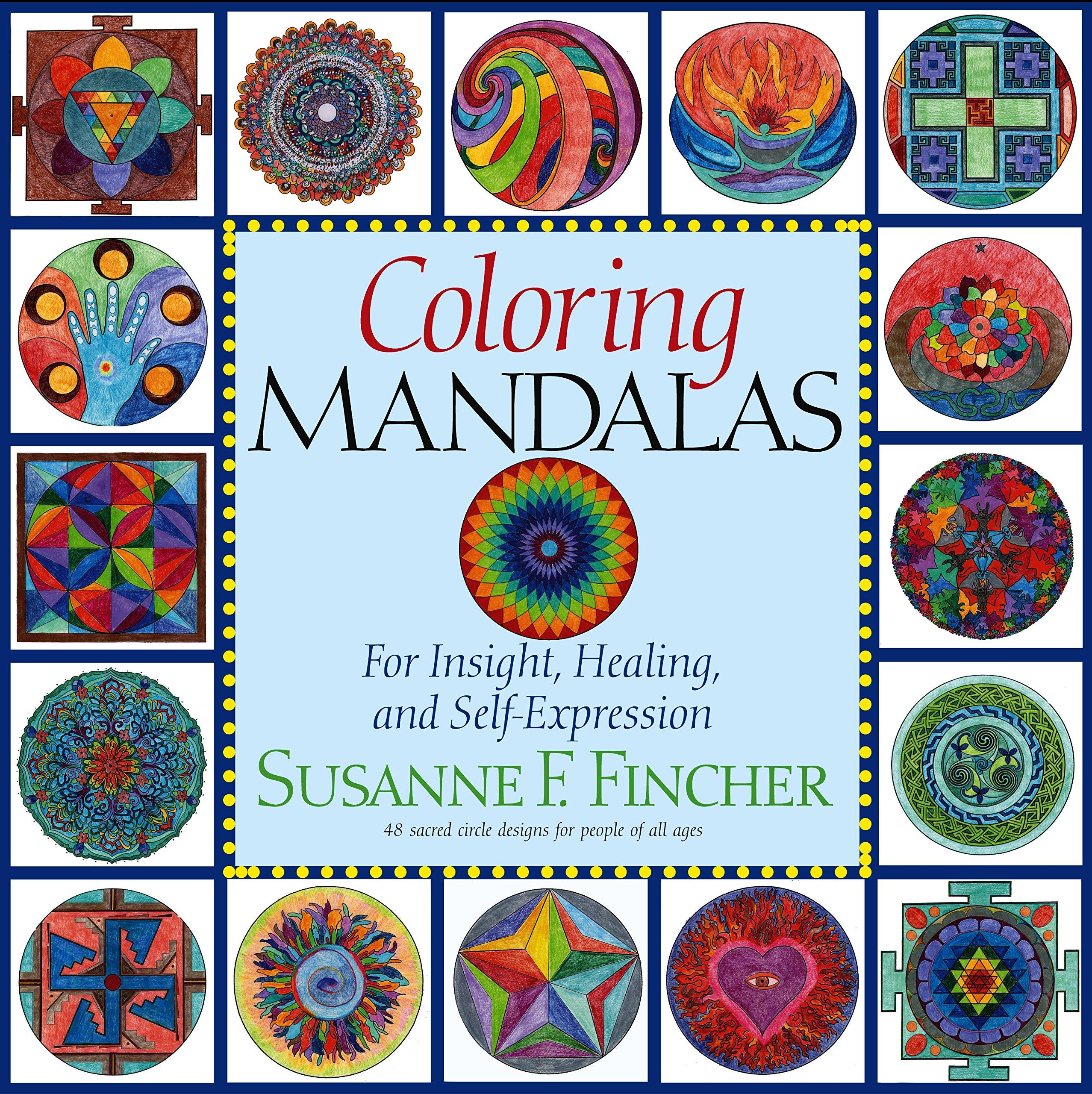 Coloring Mandalas Insight Healing Self Expression product image