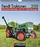 Fendt Traktoren 2018: Wochenkalender mit 53 Fotografien