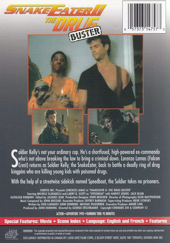 Amazon.com: Snakeeater II: Michele Scarabelli, B. Larry Scott, Harvey Atkin, Jack Blum, Lamas Lorenzo, George Erschbamer: Movies & TV