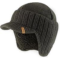 Scruffs Peaked Beanie Hat Warm Winter Insulated Workwear (Graphite Grey)