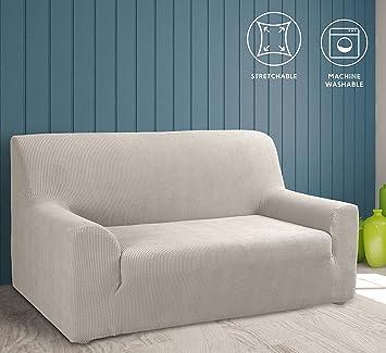 Sofabezug Färben Lassen tural beige elastischer sofabezug 3 sitzer 195 260cm sofa