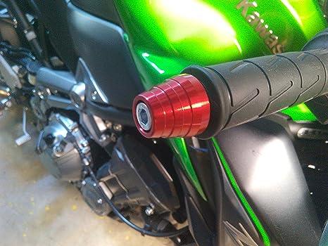Euromotorstore Contrapesos cónico de manillar para Kawasaki ...