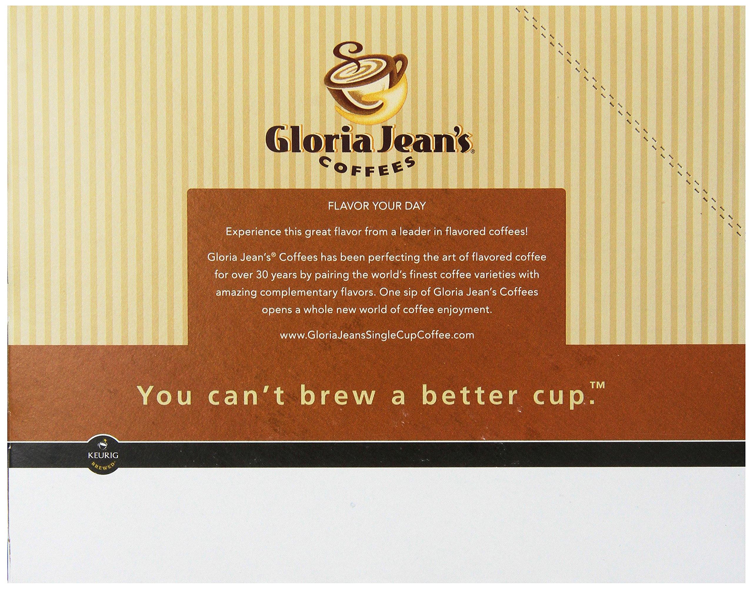 Gloria Jean's Coffee Hazelnut, Single Serve K-Cup Pod, Flavored Coffee, 96 Count