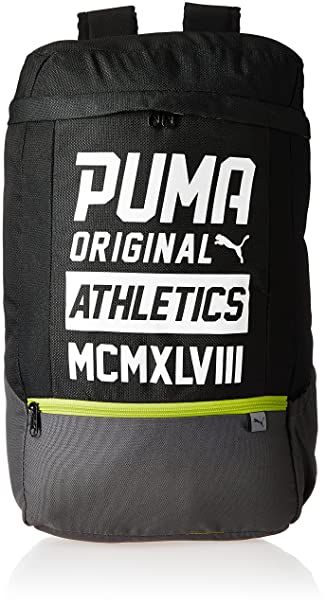 Puma 24 Ltrs Black-White Laptop Backpack (7482701)  Amazon.in  Bags ... a8c1467574dcb