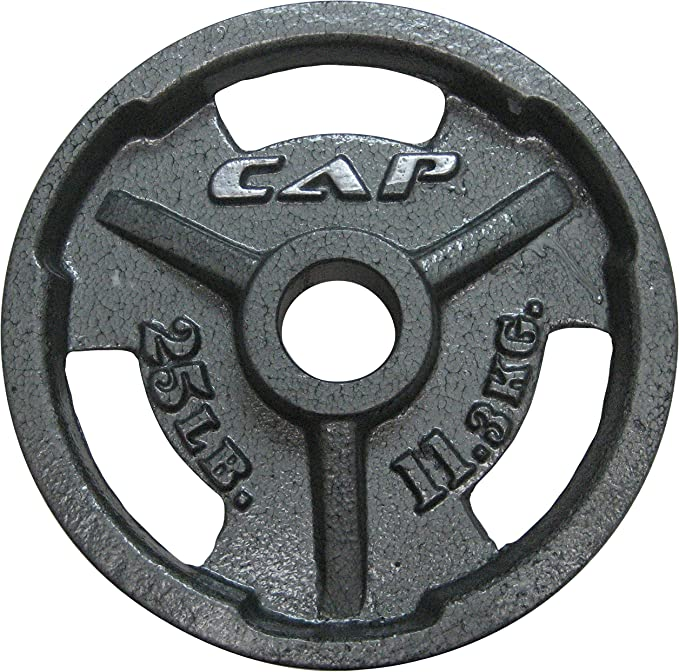 CAP Barbell Machined Olympic Grip Plate