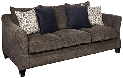 Superieur Simmons Upholstery 6485 03 Albany Pewter Albany Sofa