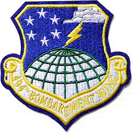 494TH BOMB WING USAF - Parche para uniforme de camisa con ...