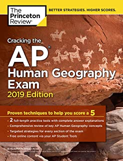 Amazon ap human geography 2017 2018 kaplan test prep cracking the ap human geography exam 2019 edition practice tests proven techniques to fandeluxe Gallery