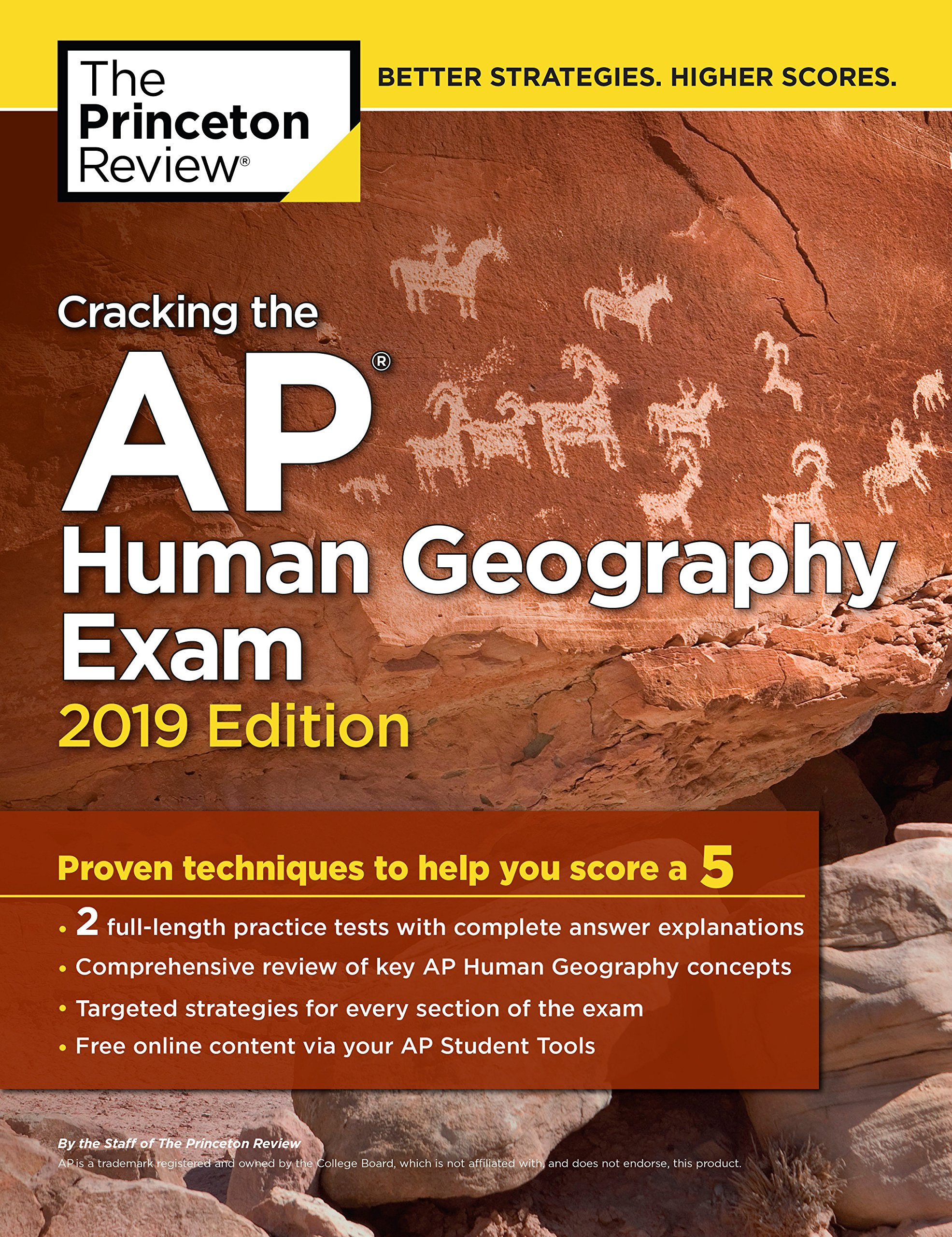 Cracking The AP Human Geography Exam 2019 Edition  Practice Tests And Proven Techniques To Help You Score A 5  College Test Preparation