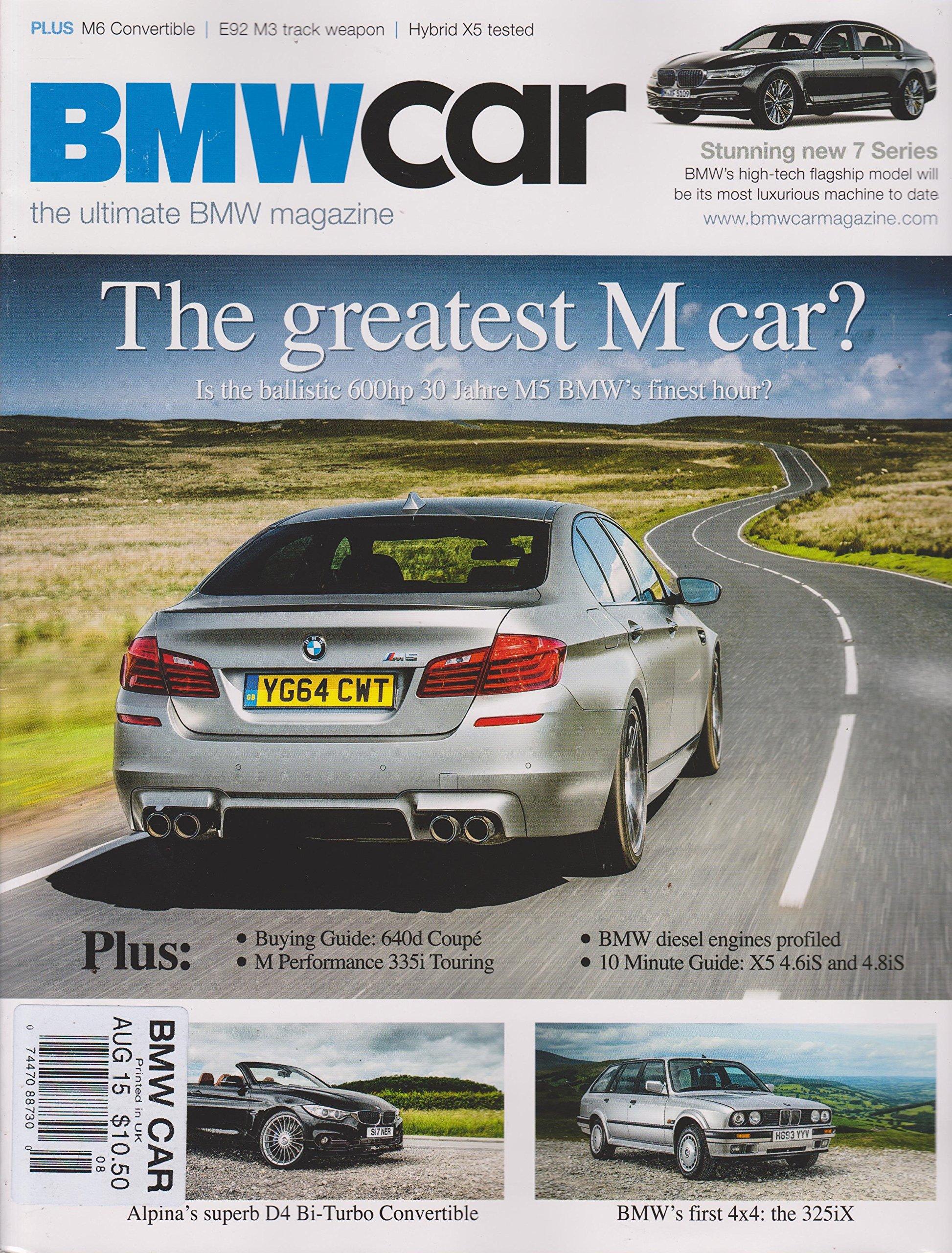 Download BMW Car Magazine August 15 2015 pdf