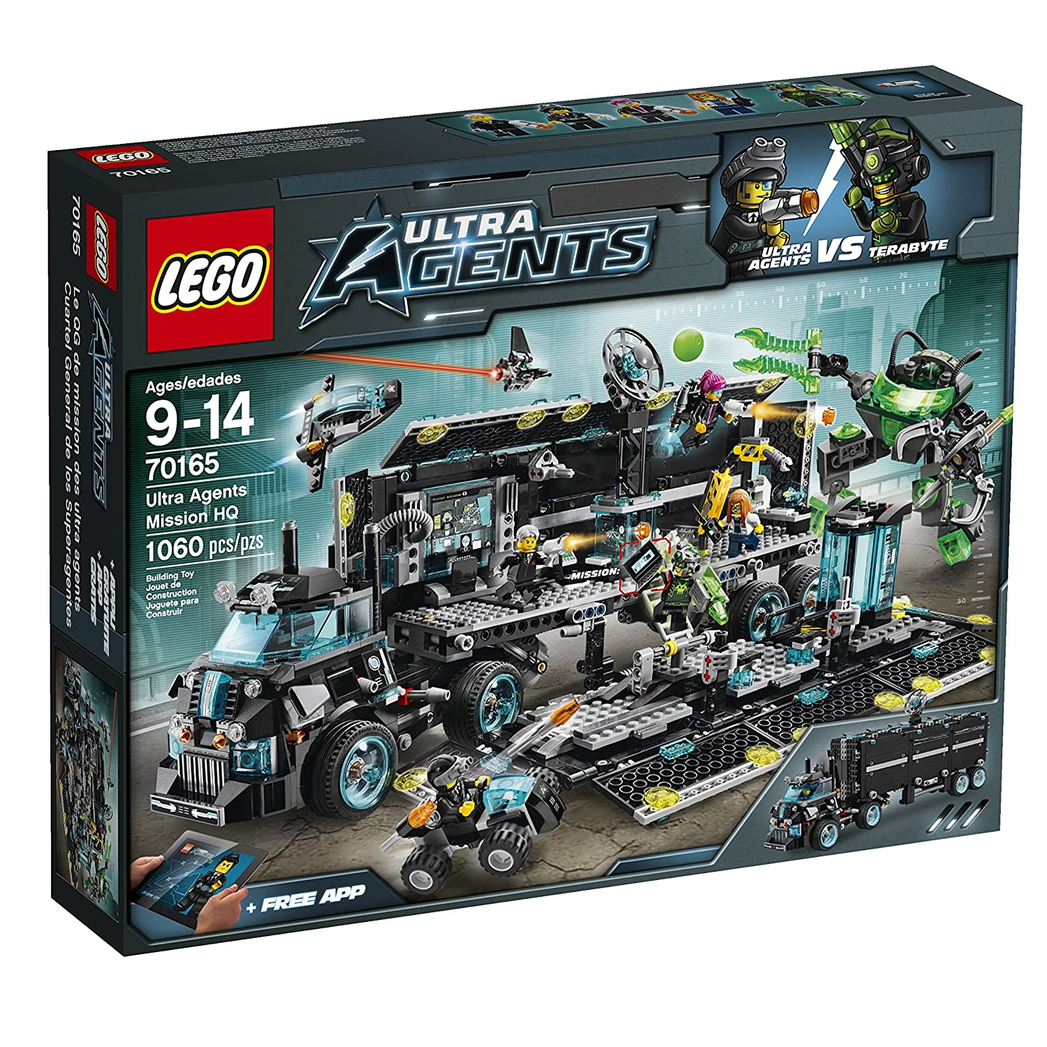 LEGO Ultra Agents 70165 Mission Headquarters by LEGO Ultra Agents