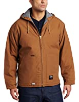 Key Apparel Men's Flame Resistant Insulated Hooded Duck Jacket