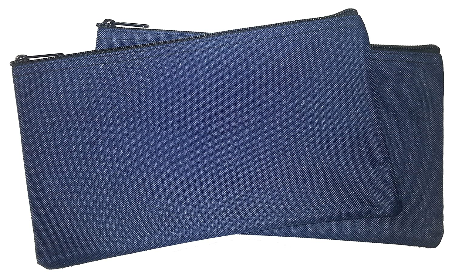Zipper Bags Poly Cloth Value Package of 2 Bags Navy Blue Cardinal Bag Supplies 76161027
