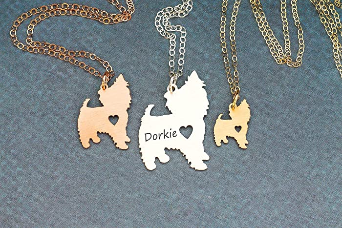Amazon yorkie dog necklace yorkshie terrier ibd yorkie dog necklace yorkshie terrier ibd personalize with name or date choose aloadofball Gallery