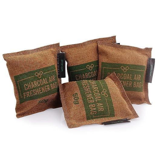 5 opinioni per VITCHELO Naturale Bambù Carbone Deodorante Odore Neutralizzante & Eliminatore
