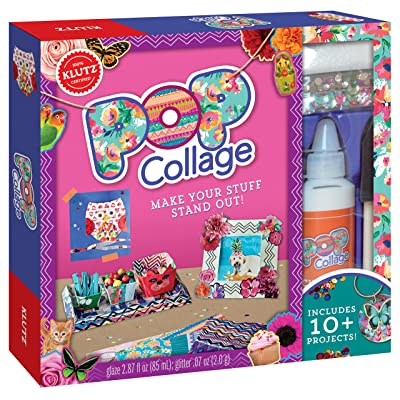 Klutz Pop Collage: Make Your Stuff Stand Out Craft Kit: Editors Of Klutz: Toys & Games