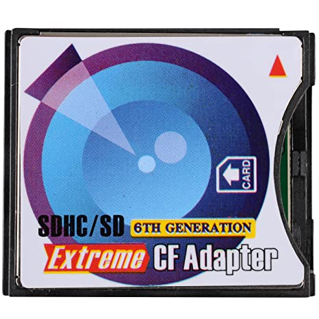 B.I.G. - Adaptador SD-SDHC a tarjeta CompactFlash tipo II ...
