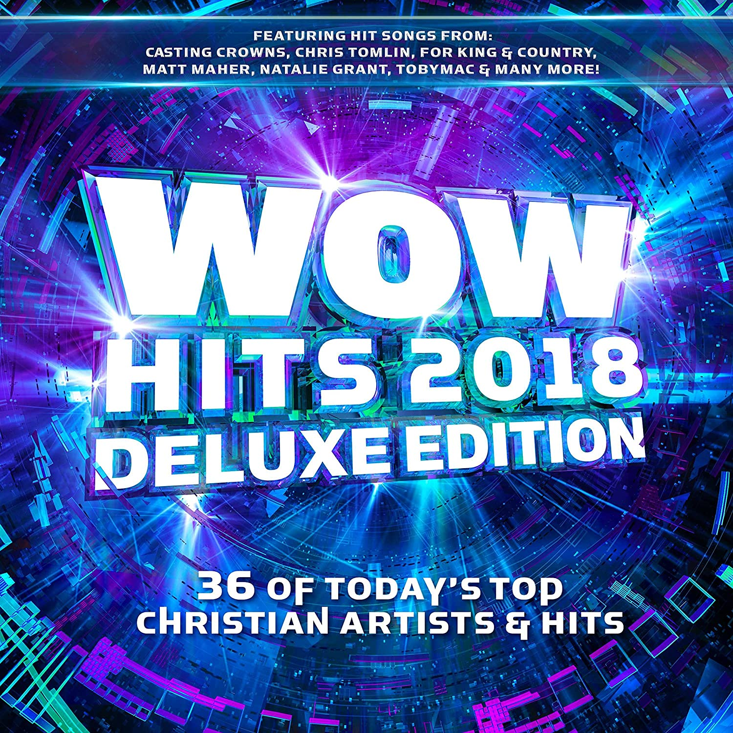 Various Artists - WOW Hits 2018 [2 CD][Deluxe Edition] - Amazon ...