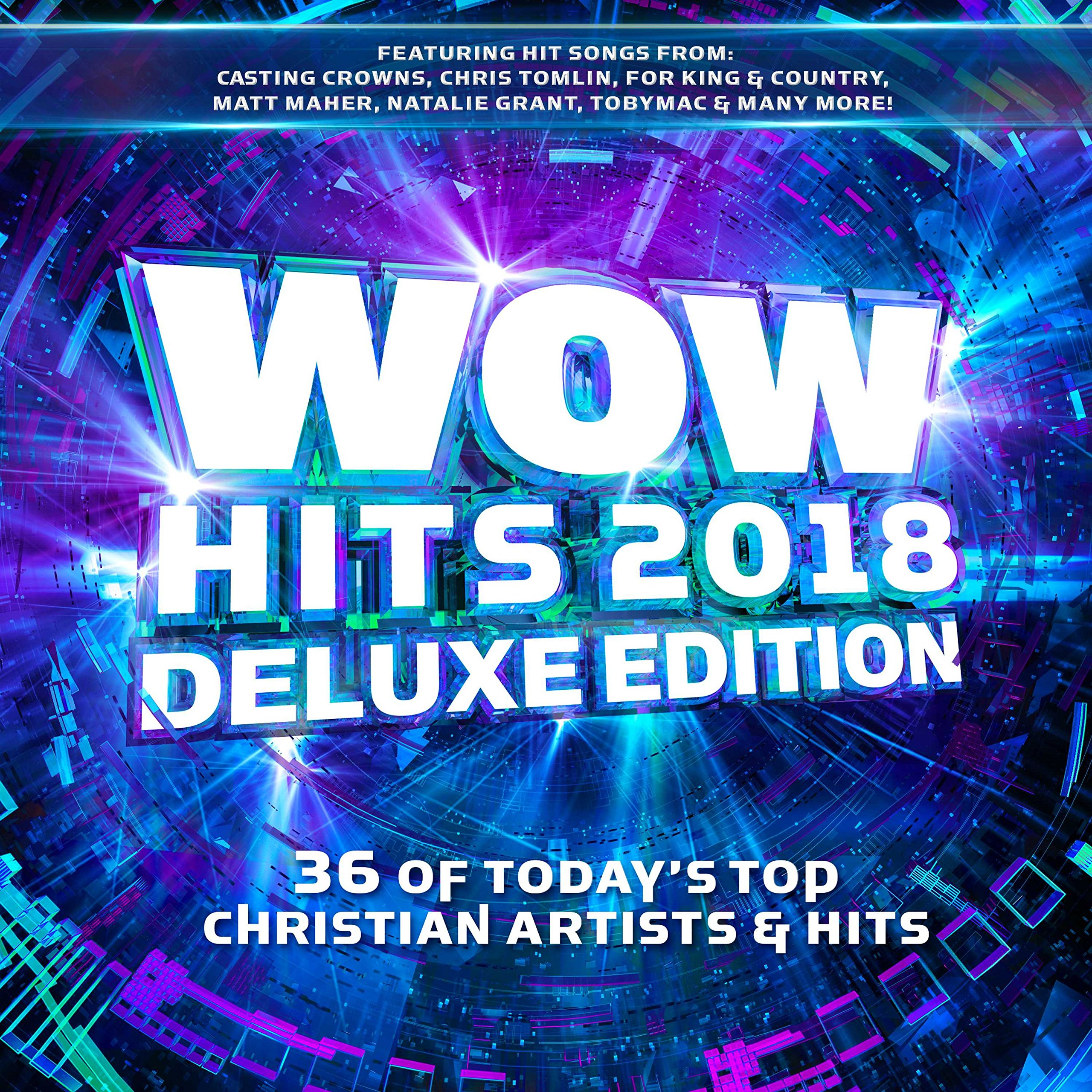 WOW Hits 2018 [2 CD][Deluxe Edition] by Capitol Christian Distribution