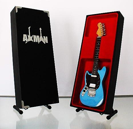 Kurt Cobain (Nirvana): Fender Mustang - Réplica de guitarra en ...