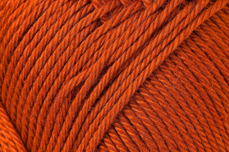 Schachenmayr Ovillo hilo de algodón para punto y ganchillo Catania 9801210, algodón, terracota, 11,5 x 5,2 x 6 cm: Amazon.es: Hogar