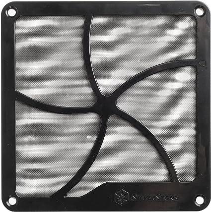 SilverStone SST-FF141B - Rejilla para ventilador de 140mm y filtro ...