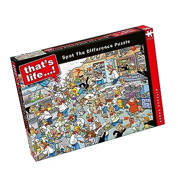 """Paul Lamond 6575 """"Vida del Caos Que Busca Las diferencias de Cocina Jigsaw Puzzle"""