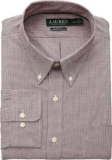 Lauren Ralph Lauren Men/'s Classic-Fit Non-Iron Dress Shirt