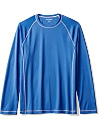 Amazon Essentials Men's Long-Sleeve Quick-Dry UPF 50 Swim Tee