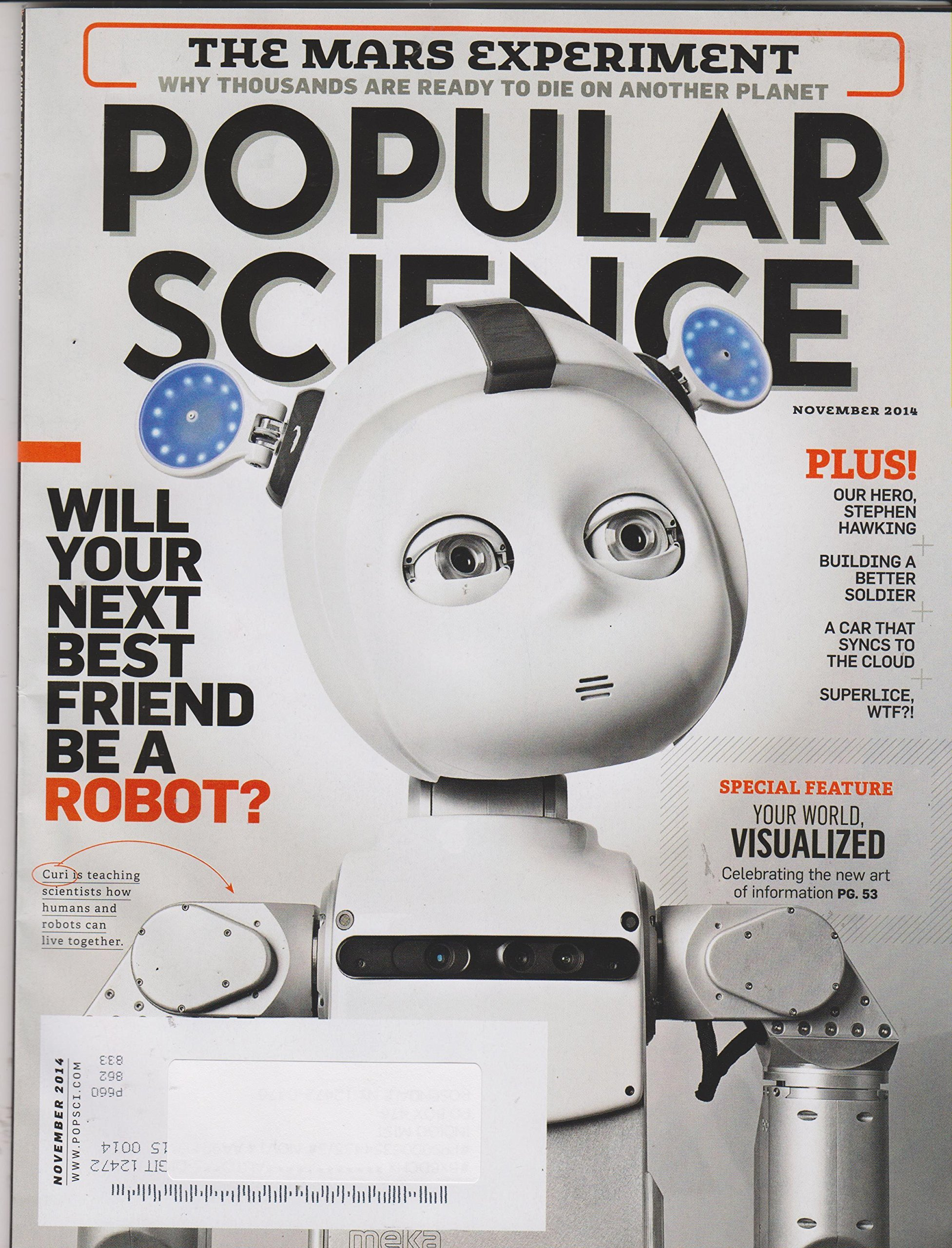 Download Popular Science November 2014 Will Your Next Friend Be A Robot? pdf