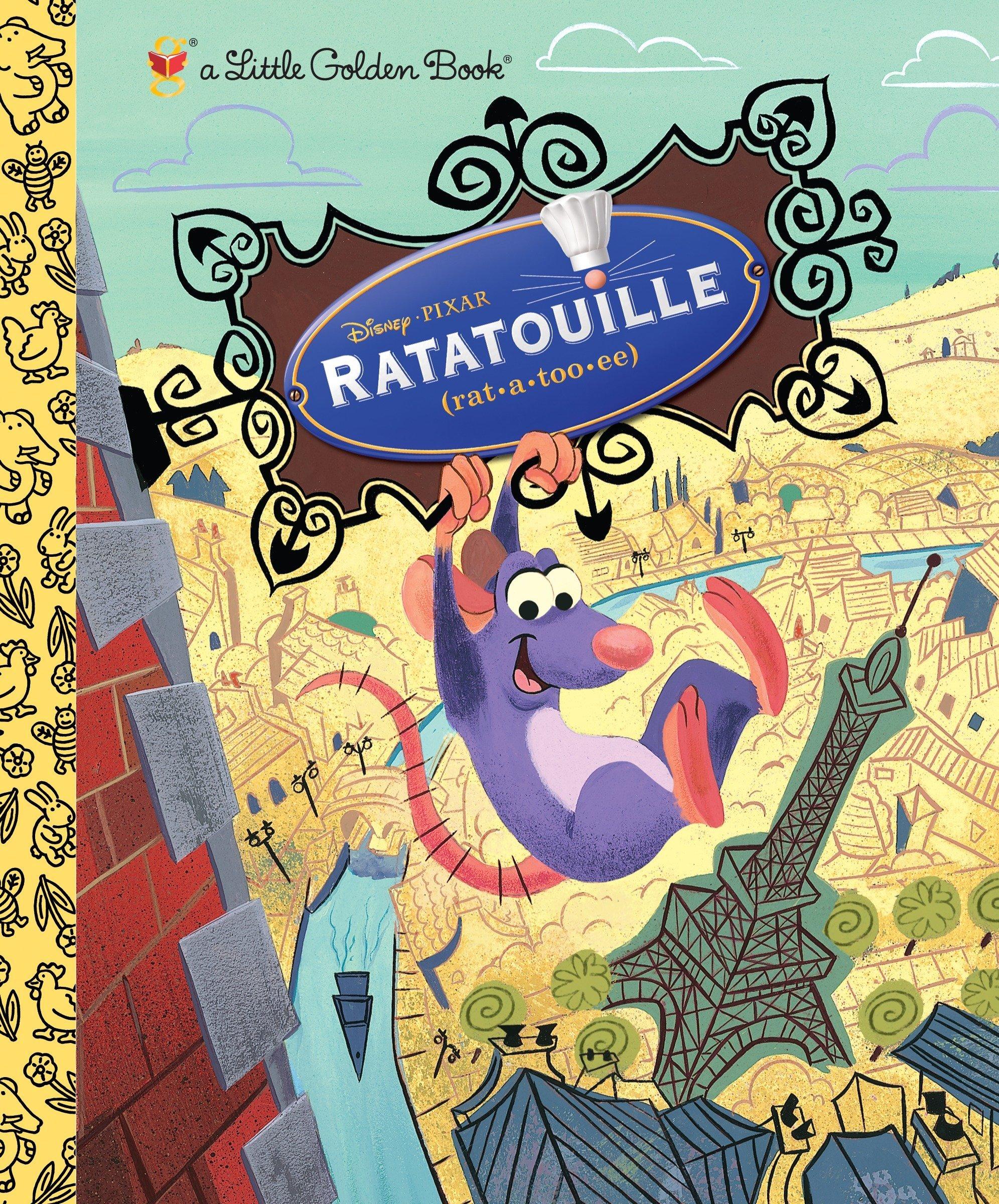 Ratatouille (A Little Golden Book): RH Disney: 9780736424233
