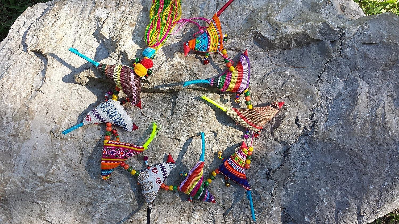 Fabric Wind Chain - Birds