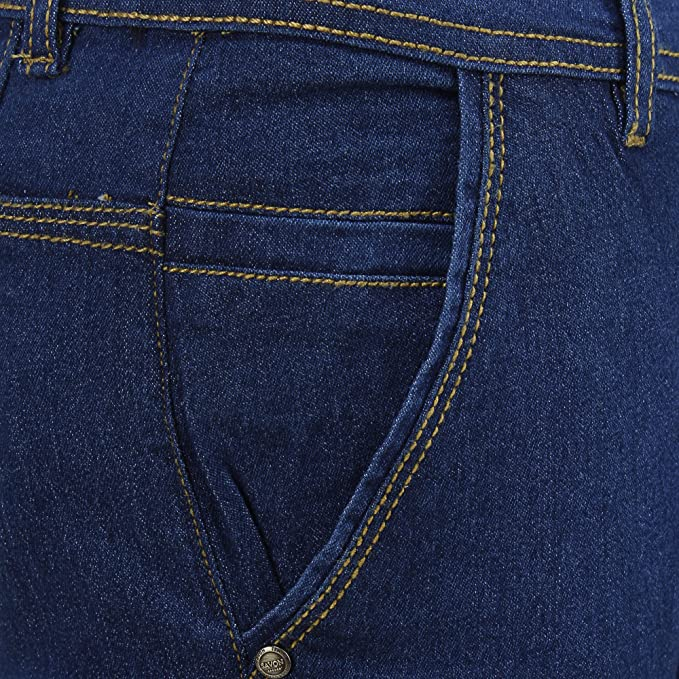 e8b5d5aa SAVON Mens Slim Fit Jeans (SH507110): Amazon.in: Clothing & Accessories