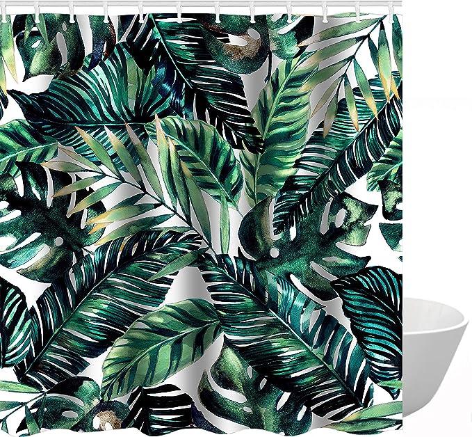 home decor silk floral arrangement floral decor tropical.htm amazon com get orange tropical palm leaves decor with stylish  get orange tropical palm leaves decor