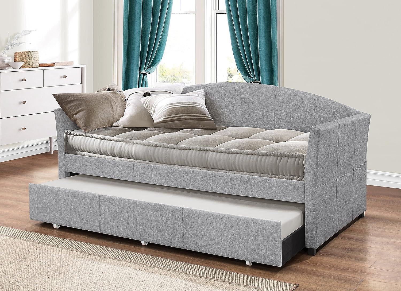Amazon.com: Hillsdale Westchester tapizado sofá cama, Metal ...
