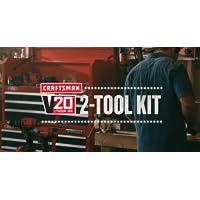 CRAFTSMAN V20 Cordless Drill Combo Kit, 2 Tool