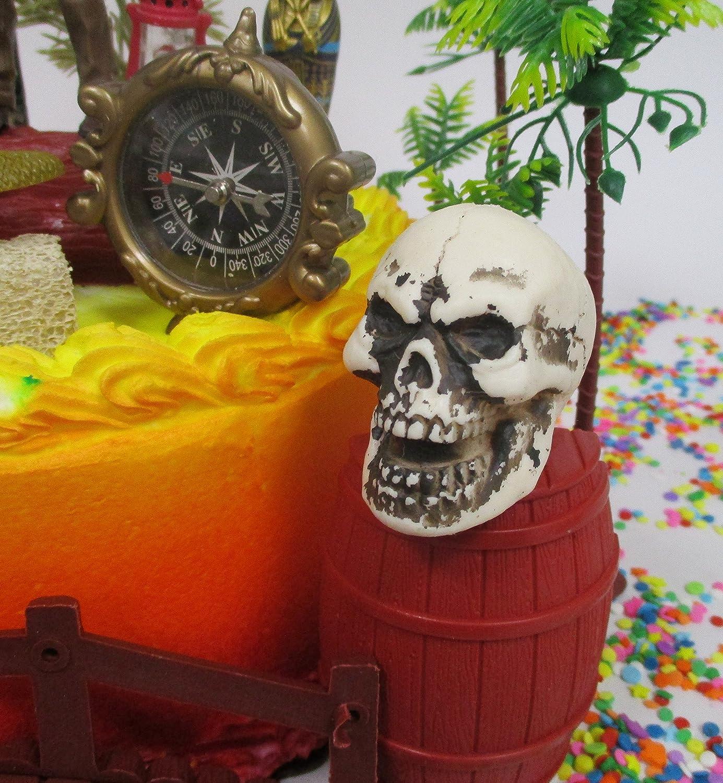 Amazon Com Indiana Jones Birthday Cake Topper Set Featuring Indiana