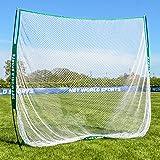 Portable Hitting Net 7ft x 7ft - Multi-Sport Practise & Hitting Training From Your Garden [Net World Sports]
