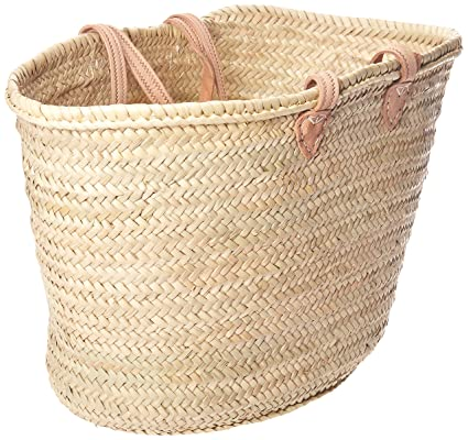 Straw Shopping Basket