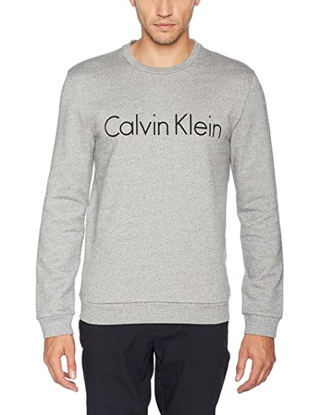 Calvin Klein Sem Logo Crew Neck, Sudadera para Hombre: Amazon.es: Ropa y accesorios