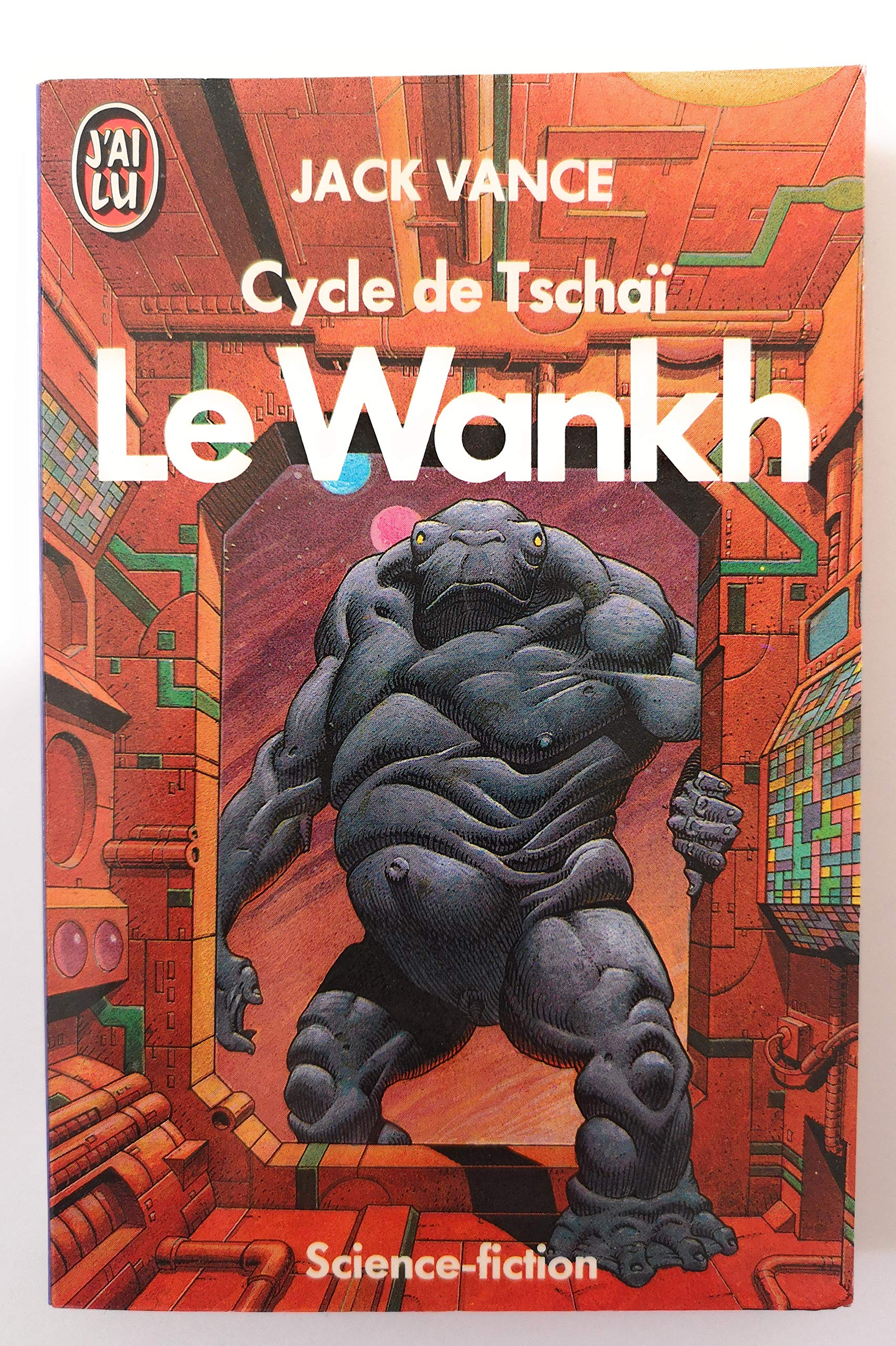 Couverture de Cycle de tschai  t2 - le wankh