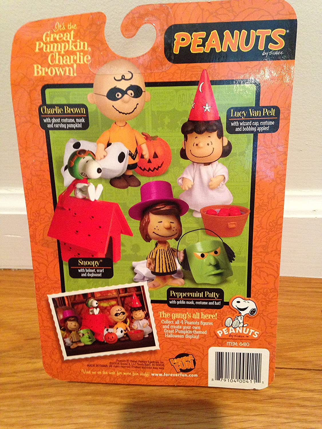 Amazon.com: Peanuts Poseable - Charlie Brown W/mask, Ghost Costume ...