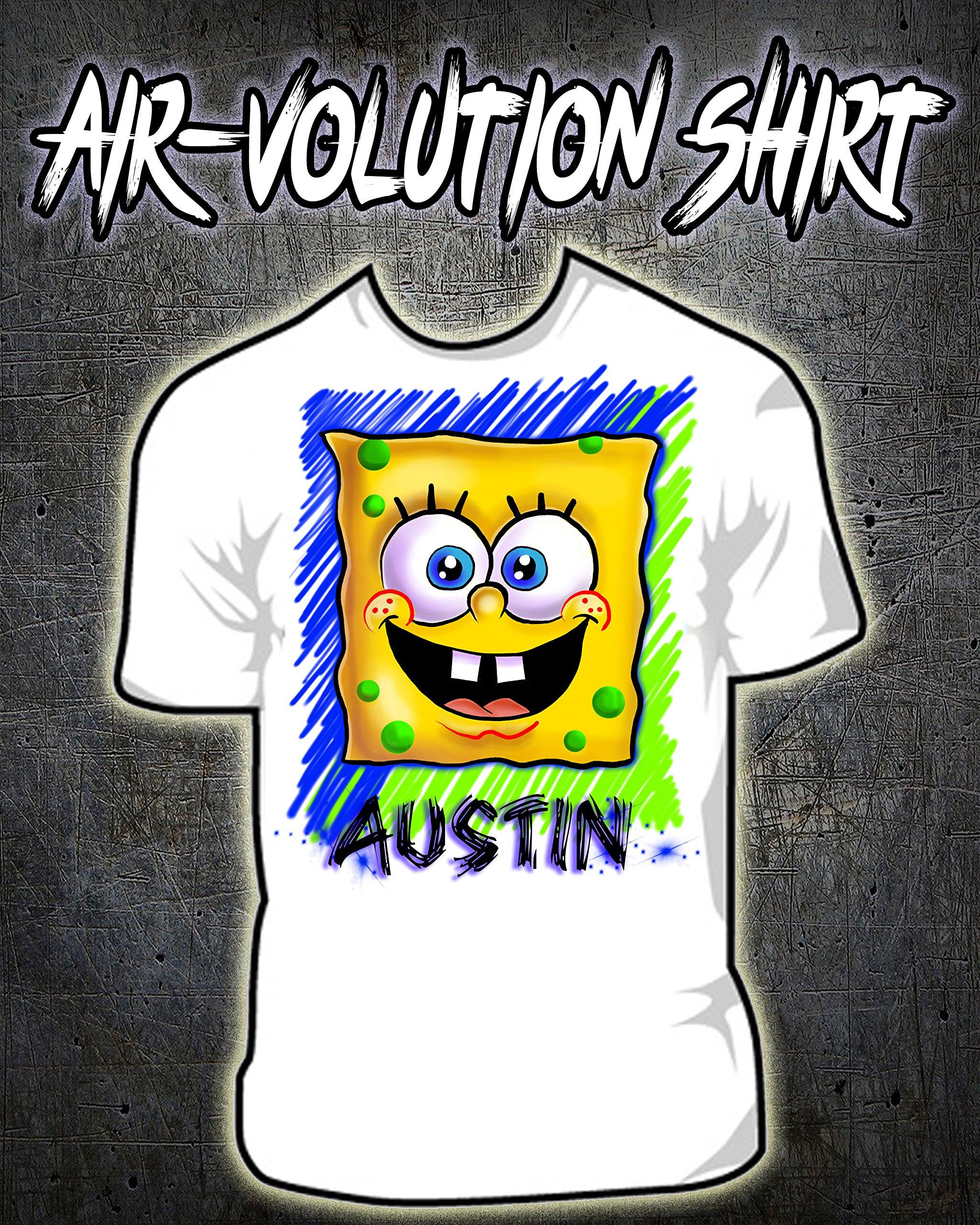 Personalized Airbrush Spongebob Shirt