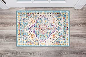 Rugshop Vintage Traditional Bohemian Area Rug 2' x 3' Blue