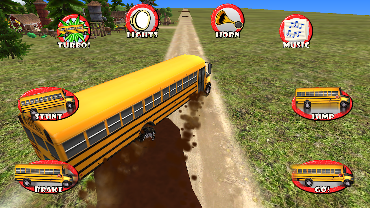 Amazon.com: School Bus Drive & Play! Toy Car Game For ...
