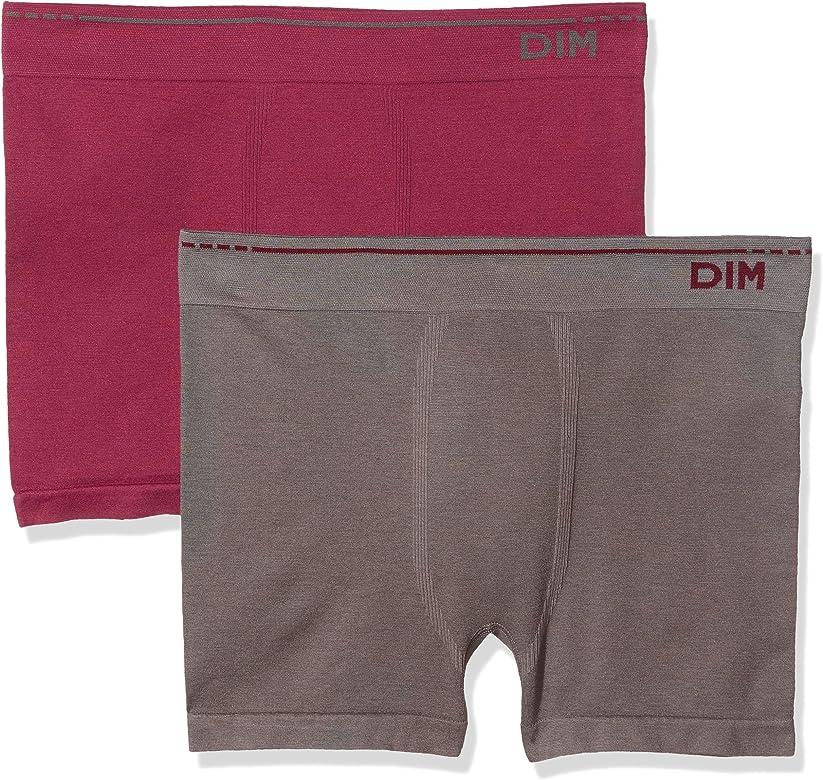 Unno DIM Basic AD005HF, Bóxer para Hombre, Rojo (Rojo 5om), Medium (Tamaño del fabricante:3), pack de 2: Amazon.es: Ropa y accesorios
